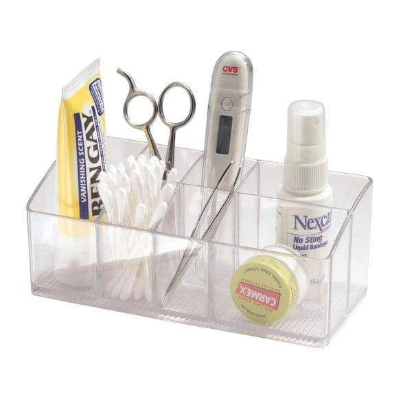 Organizator transparent iDesign Med