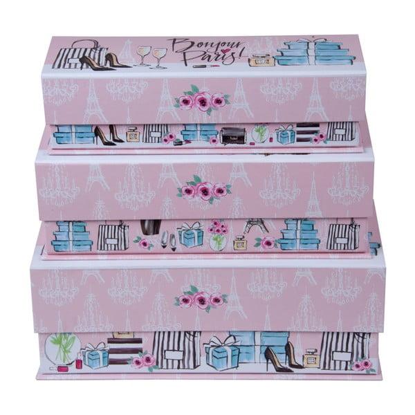 Set 3 cutii Tri-Coastal Design Trés Chic