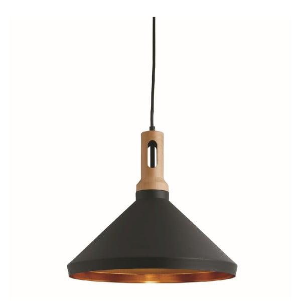 Stropní světlo Cone Black/Wood