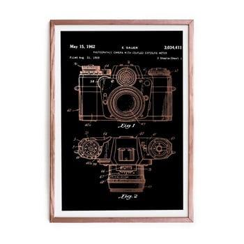 Tablou/poster înrămat Really Nice Things Camera, 40x60cm de la Really Nice Things