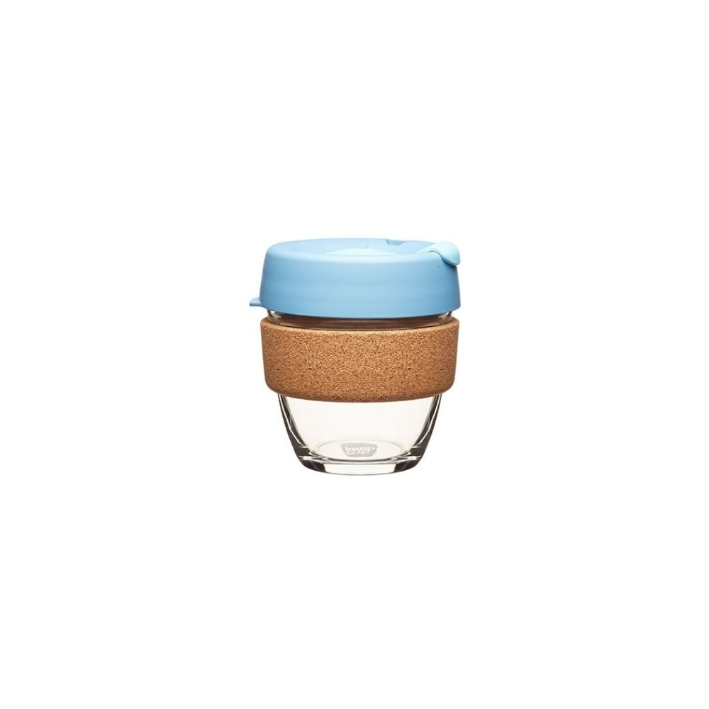 Cestovní hrnek s víčkem KeepCup Brew Cork Edition Rock Salt, 227 ml