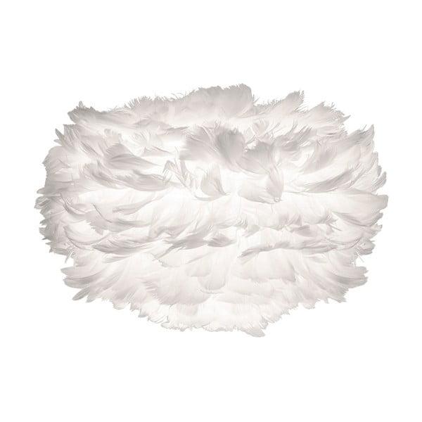 Biały abażur z gęsich piór VITA Copenhagen EOS, Ø22cm