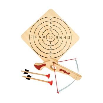 Set arc și săgeți din lemn Legler Crossbow Small de la Legler