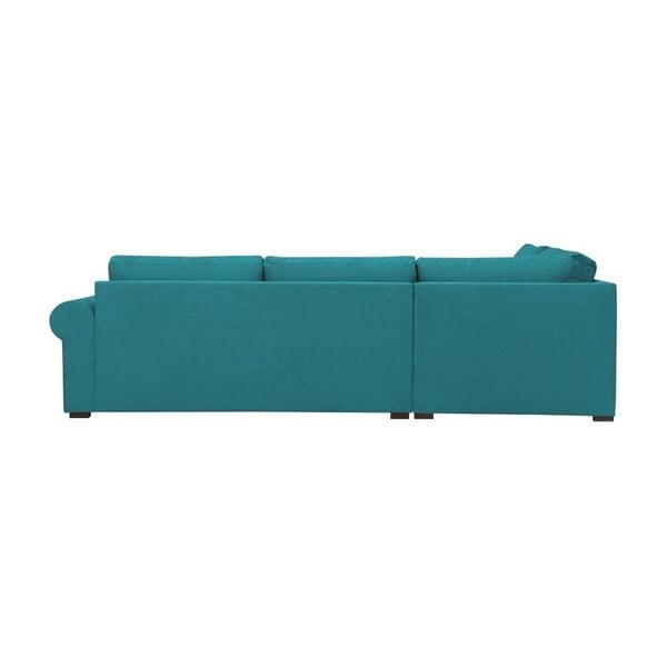 Tyrkysová pohovka Windsor & Co Sofas Hermes, pravý roh