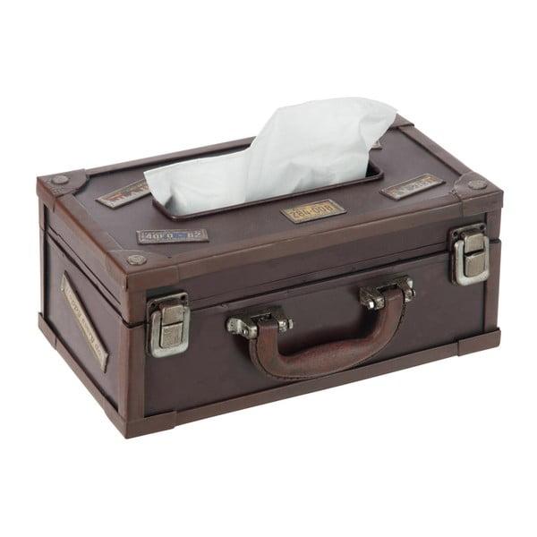 Box na kapesníky Suitcase Cocoa