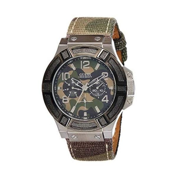 Ceas bărbătesc Guess W0407G1, curea metalică, argintiu