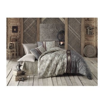 Lenjerie de pat cu cearșaf Basilisk, 200 x 220 cm de la Victoria