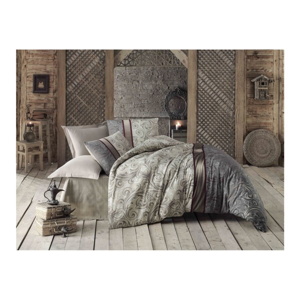 Lenjerie de pat cu cearșaf Basilisk, 200 x 220 cm
