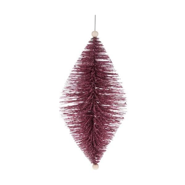 Fialová závěsná ozdoba Dakls, délka 24 cm
