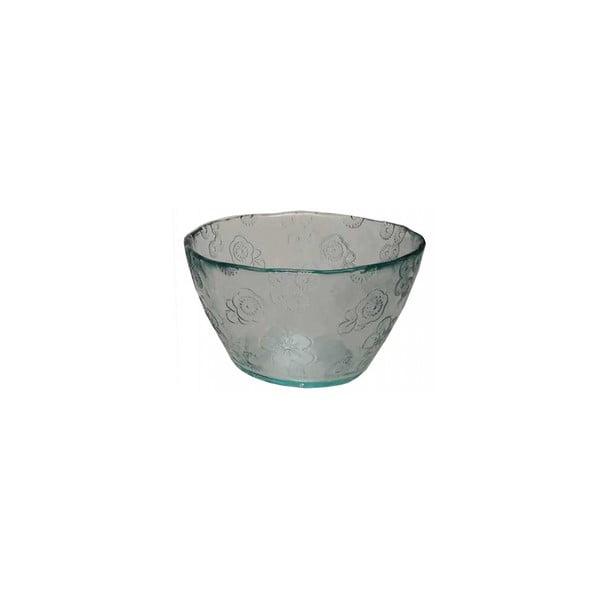 Skleněná miska EgoDekorFlora, 14 cm