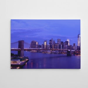Obraz na plátně Brooklyn Bridge, 50x70 cm