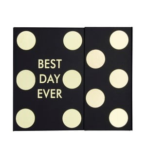 Kapesní týdenní plánovač Tri-CoastalDesign Best Day Ever