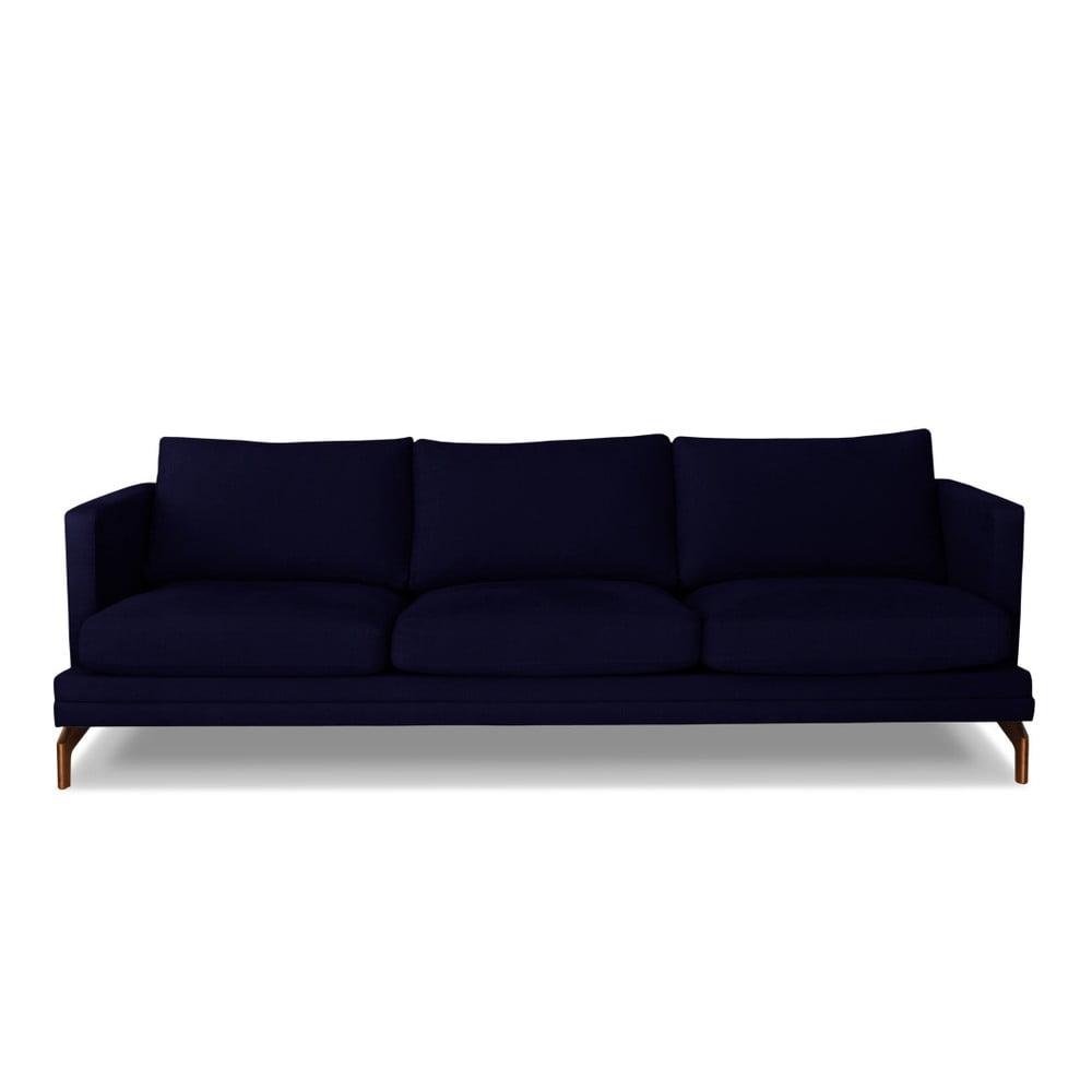 Tmavě modrá trojmístná pohovka Windsor & Co. Sofas Jupiter