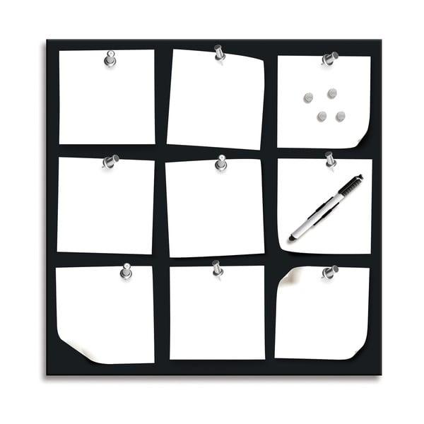 Magnetická tabule 1005, 50x50 cm