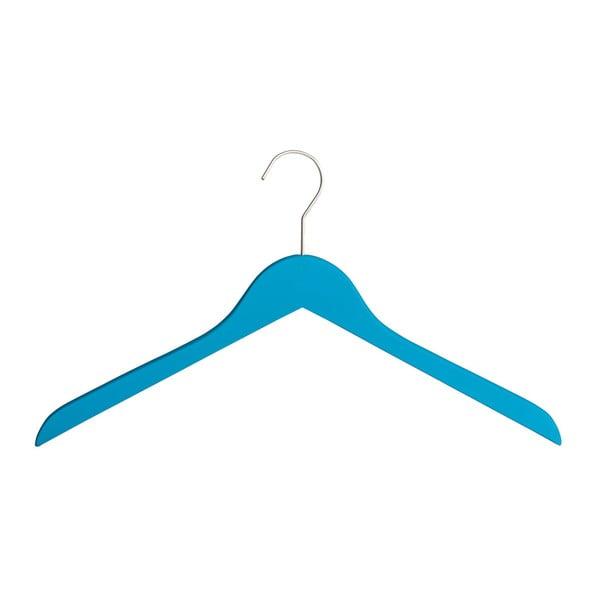 Umeraș din lemn pentru haine Wenko Paris, albastru