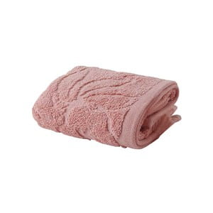 Růžový ručník z bavlny Bella Maison Rosa, 30x50cm