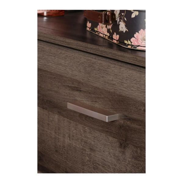 Komoda v dekoru ořechového dřeva se 3 zásuvkami Parisot Alix