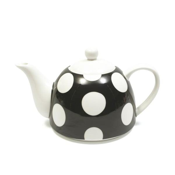 Čajová konvice, černý puntík