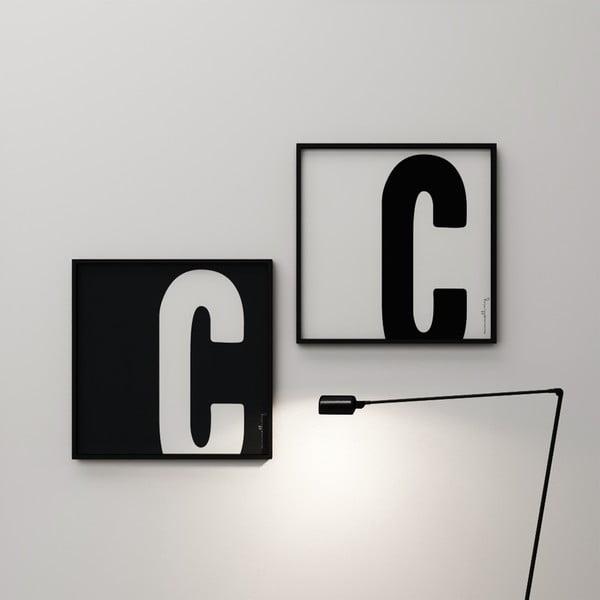 Plakát Litera C, 50x50 cm