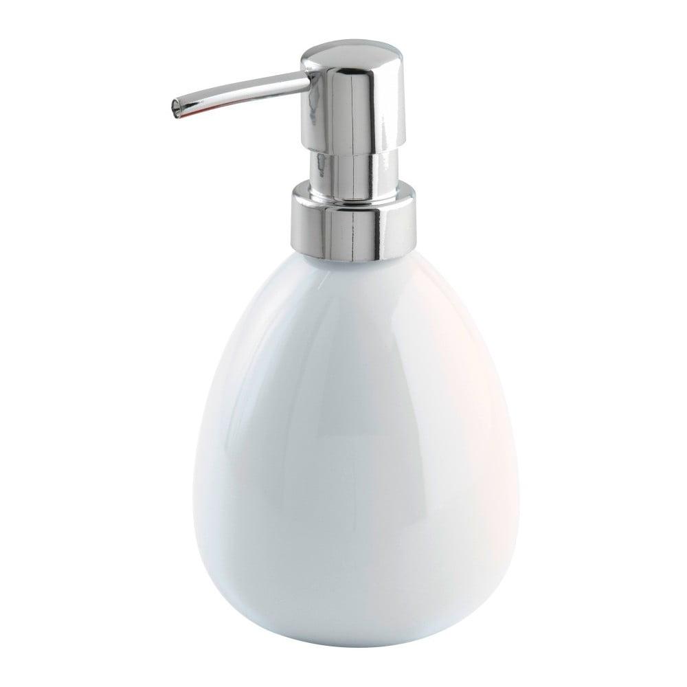 Bílý dávkovač mýdla Wenko Polaris