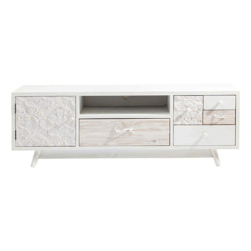 Krémový televizní stolek Kare Design Sweet Home