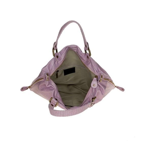 Kožená kabelka Ore Diece Affile, růžová