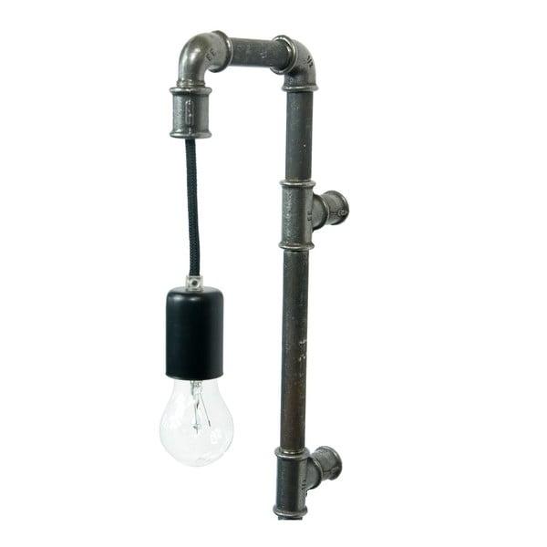 Nástěnné světlo Gie El Home Steel Pipe Black Shorto