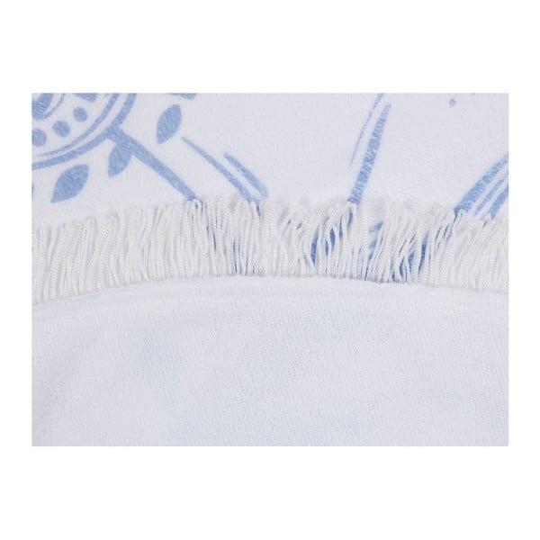 Barevná plážová osuška ze 100% bavlny Rises, ⌀ 150 cm