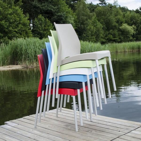 Židle Breeze White, vhodná do interiéru i exteriéru