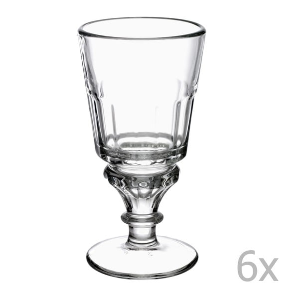 Sada 6 sklenic na noze Absinthe, 300 ml