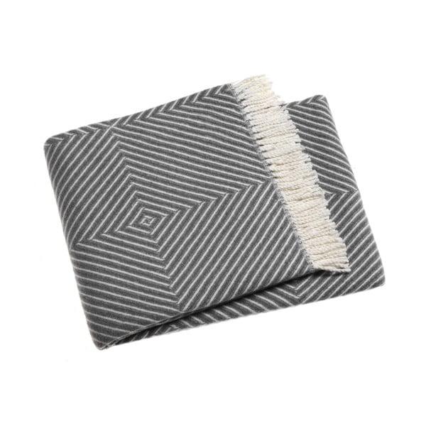 Šedá deka Euromant Tebas,140x180cm
