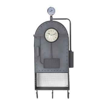 Ceas de perete cu spațiu depozitare și cârlige Mauro Ferretti Caldron imagine