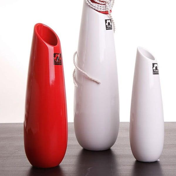 Váza Save 31 cm, červená
