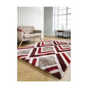 Koberec Flair Rugs Bijoux Red Brown, 160 x 230 cm