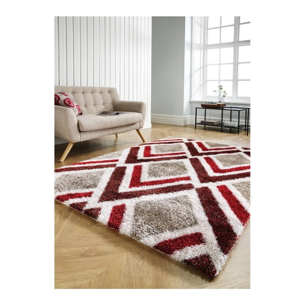 9b2f7ca6aa4cef Dywan Flair Rugs Bijoux Red Brown, 120x170 cm