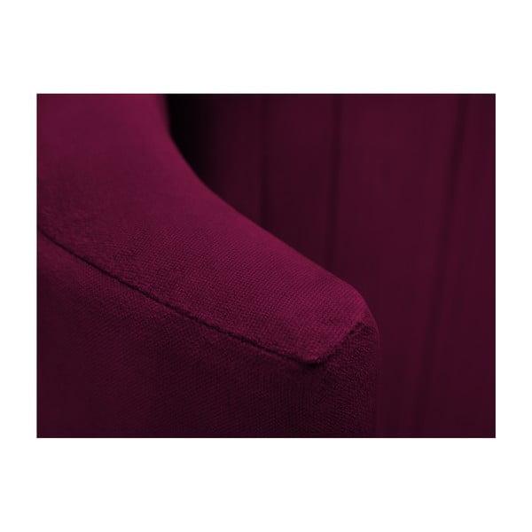 Burgundově červené čelo postele Cosmopolitan design Vegas, 200x120cm