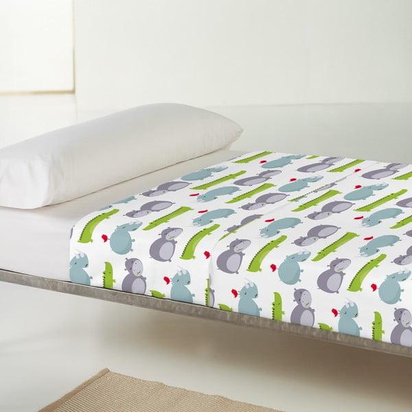 Dětský povlak na polštář a přehoz Mr. Fox Hippo, 100x130 cm