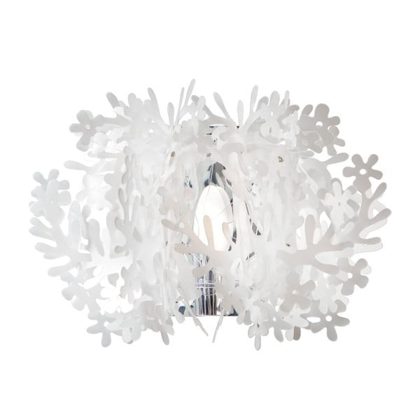 Nástěnné světlo Fiorella Mini Flume White
