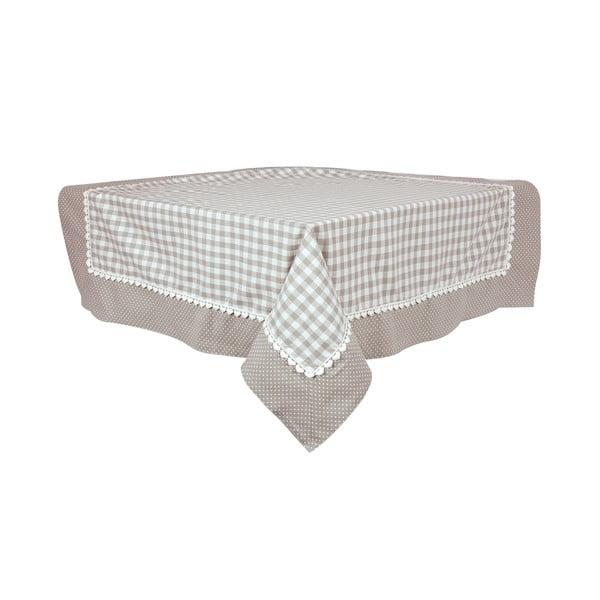 Ubrus Basic Hearts 160x250 cm, šedý