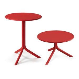 Červený nastavitelný zahradní stolek Nardi Garden Spritz