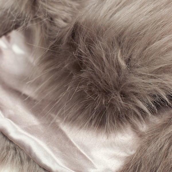 Kožešinový límeček Etola Brown