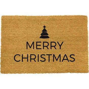 Covoraș intrare din fibre de cocos Artsy Doormats Merry Christmas 40 x 60 cm imagine