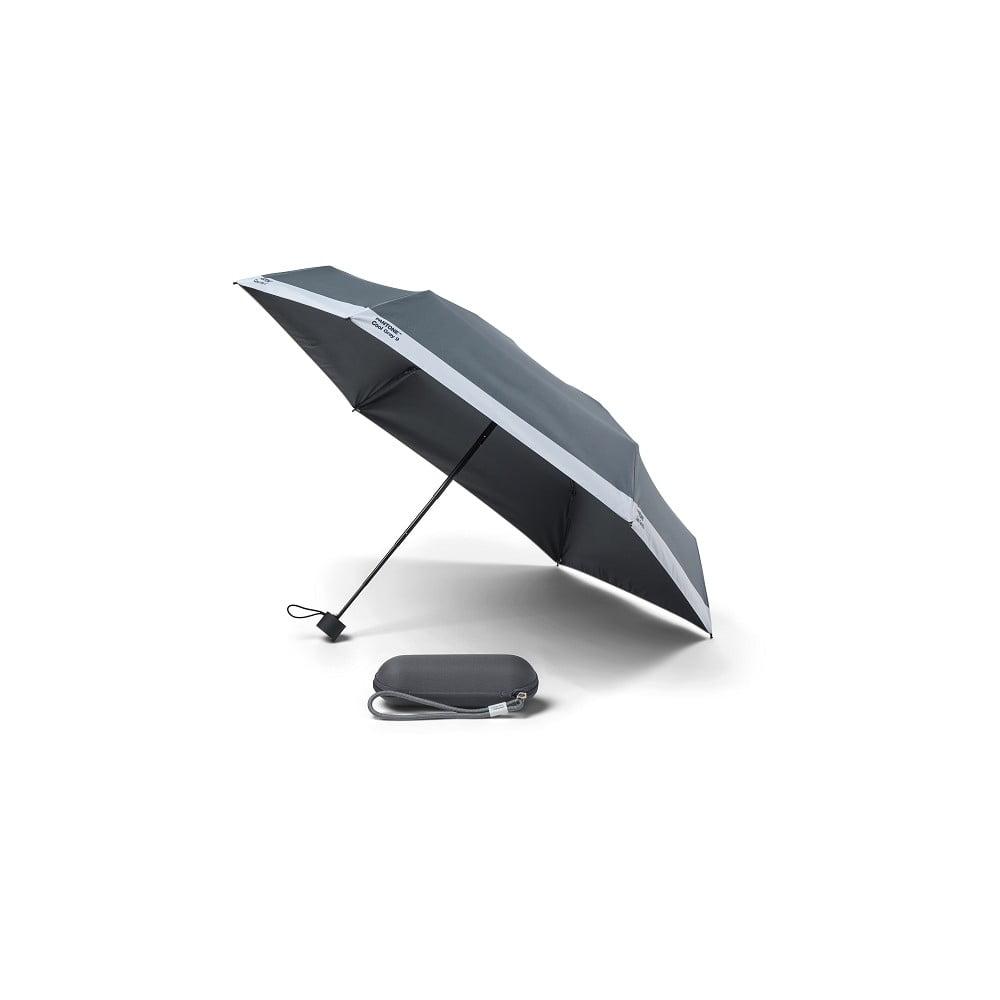 Šedý skládací deštník Pantone