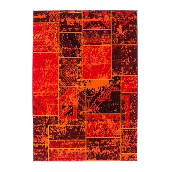 Koberec Retro, terra, 80x150 cm