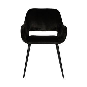 Set 2 scaune WOOOD Jelle, negru