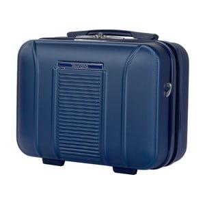 Modrý kosmetický kufřík Murano Spider