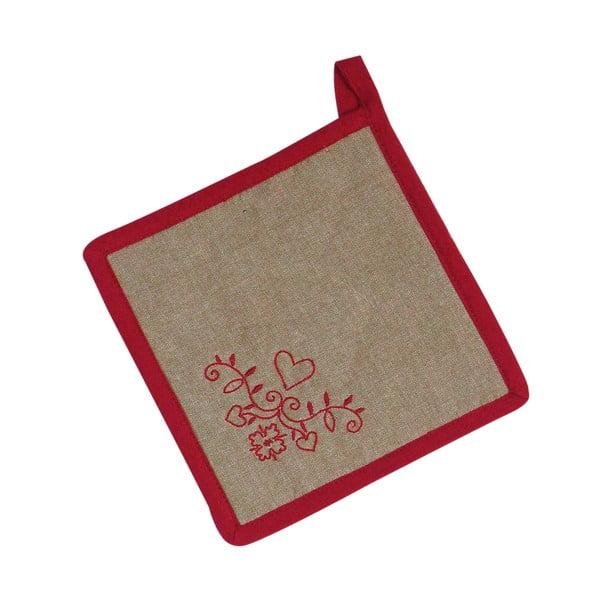 Prosop termic și mânușă de bucătărie Antic Line Heart