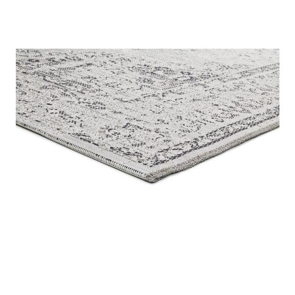 Šedobéžový koberec vhodný i na ven Universal Weave Lurno, 77 x 150 cm