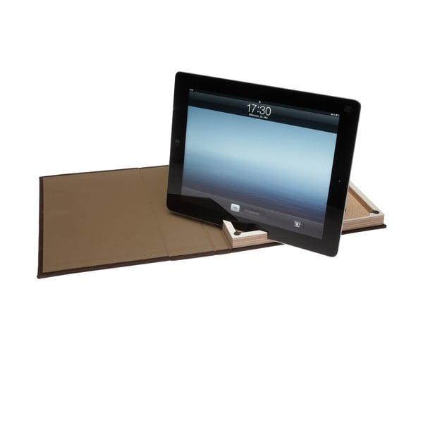 Kožený obal na iPad 2/3/4, bílý rám
