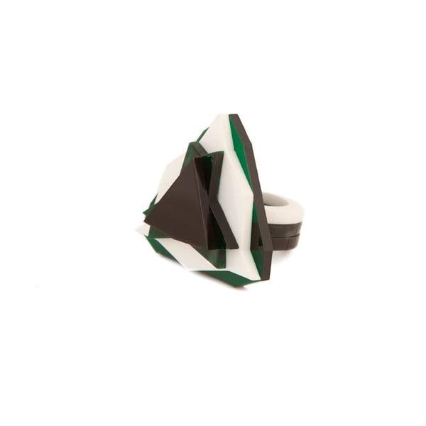 Prsten Baguera Vectory Trilliant GWB, 1.8 cm